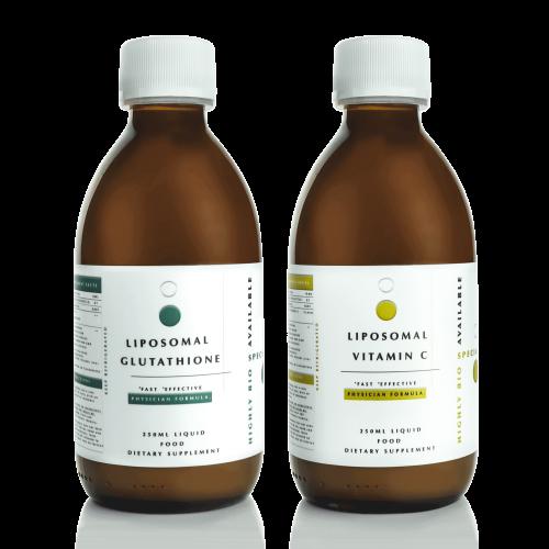 liposomal glutathione and vitamin c