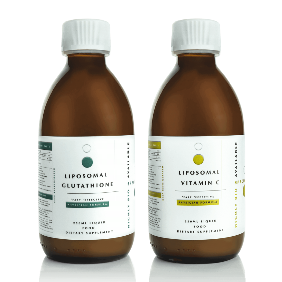 liposomal glutathione and vitamin c