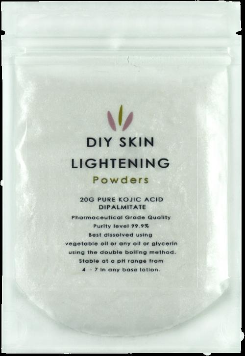 kojic acid dipalmitate skin lightening powder