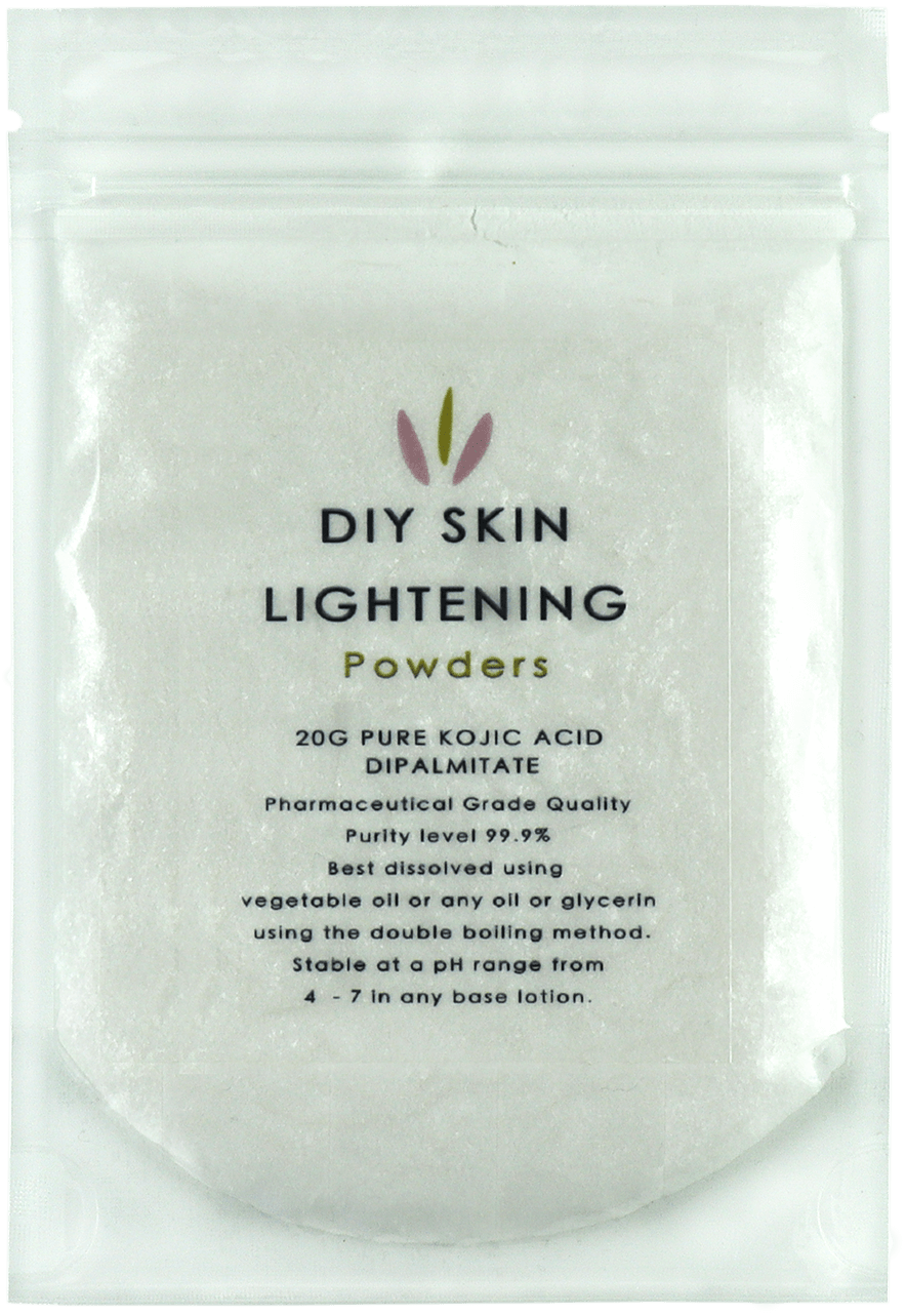 kojic acid dipalmitate skin lightening powder