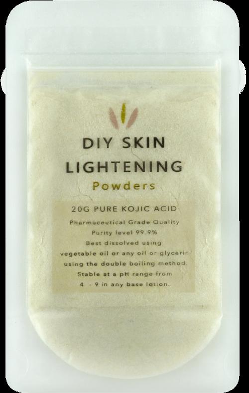 kojic acid skin lightening powder