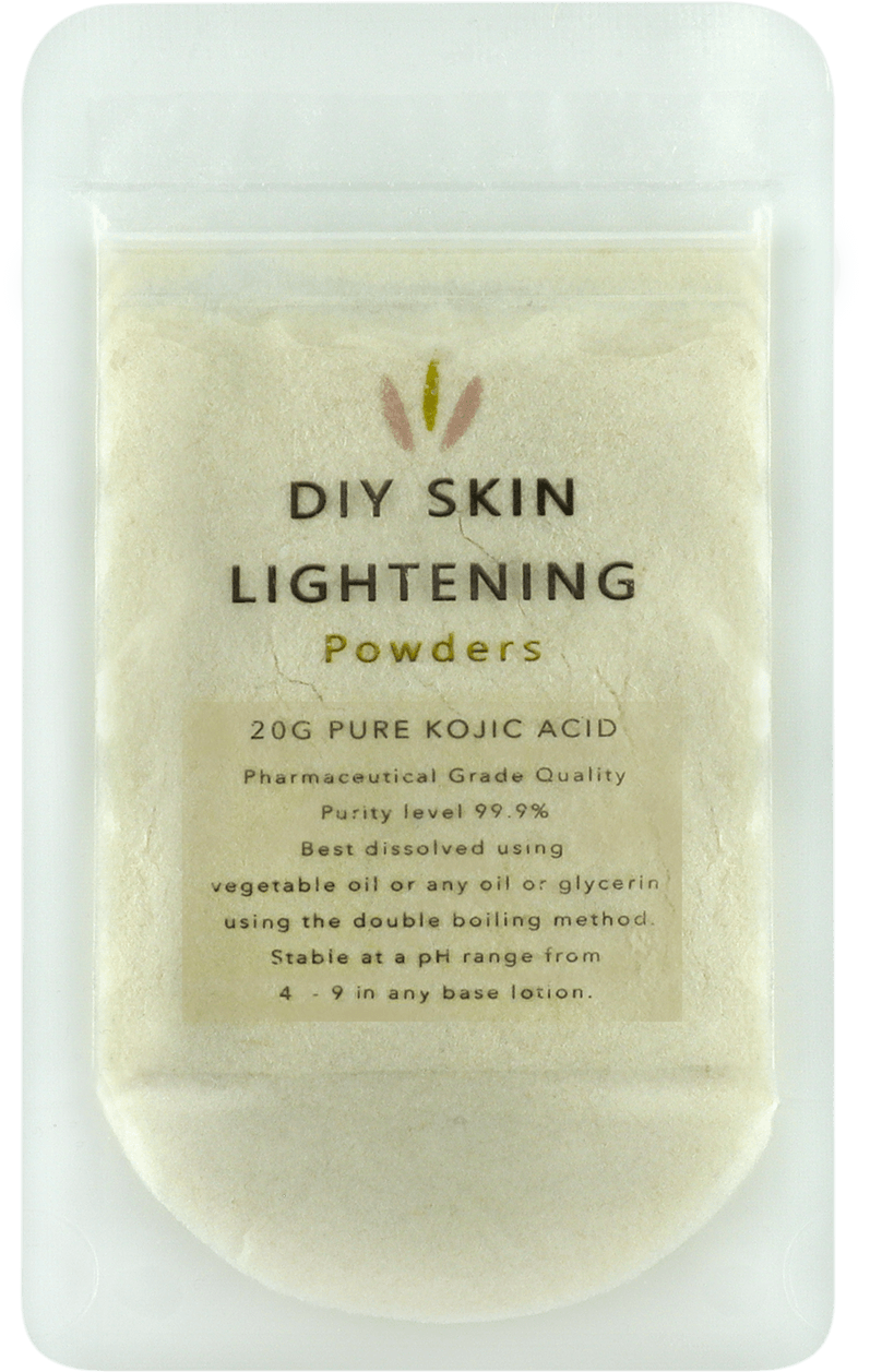 kojic acid skin lightening powder