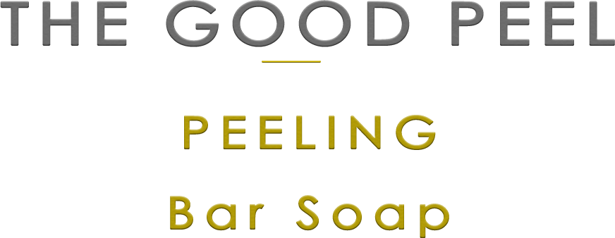 the good peel bar soap