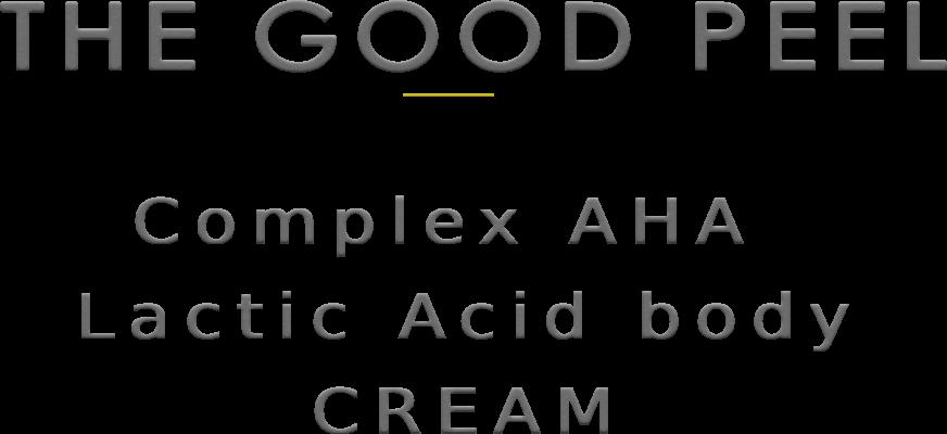 lactic acid body cream